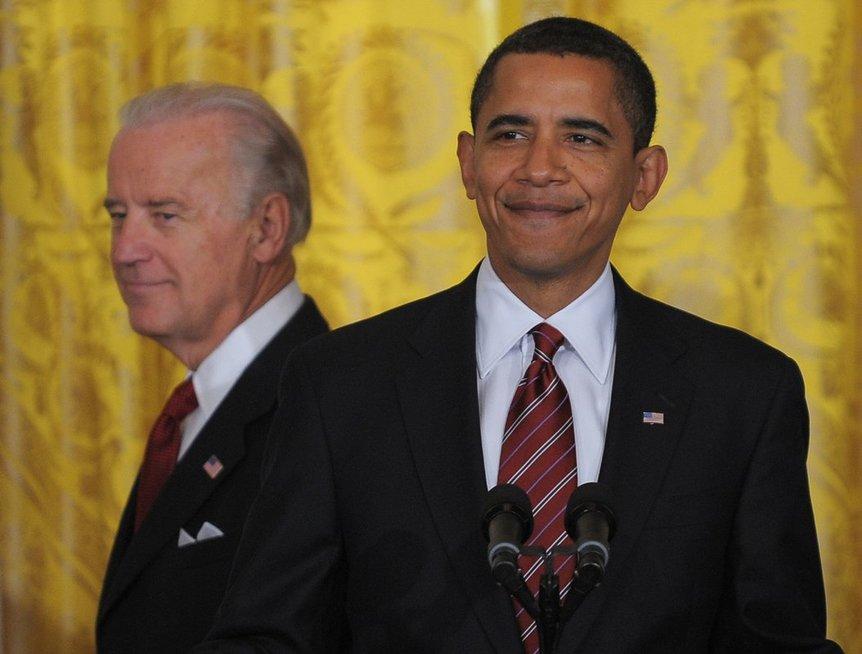 Joe Bidenas ir Barackas Obama
