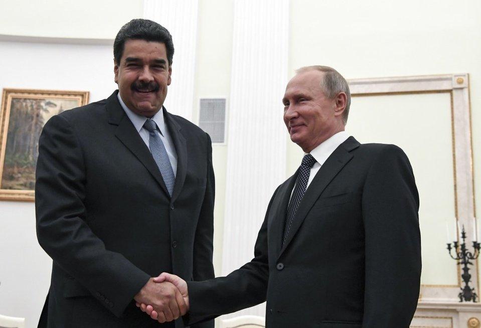 Per 48 valandas Kremliuje apsilankė Venesuelos ir Saudo Arabijos vadovai (nuotr. SCANPIX)