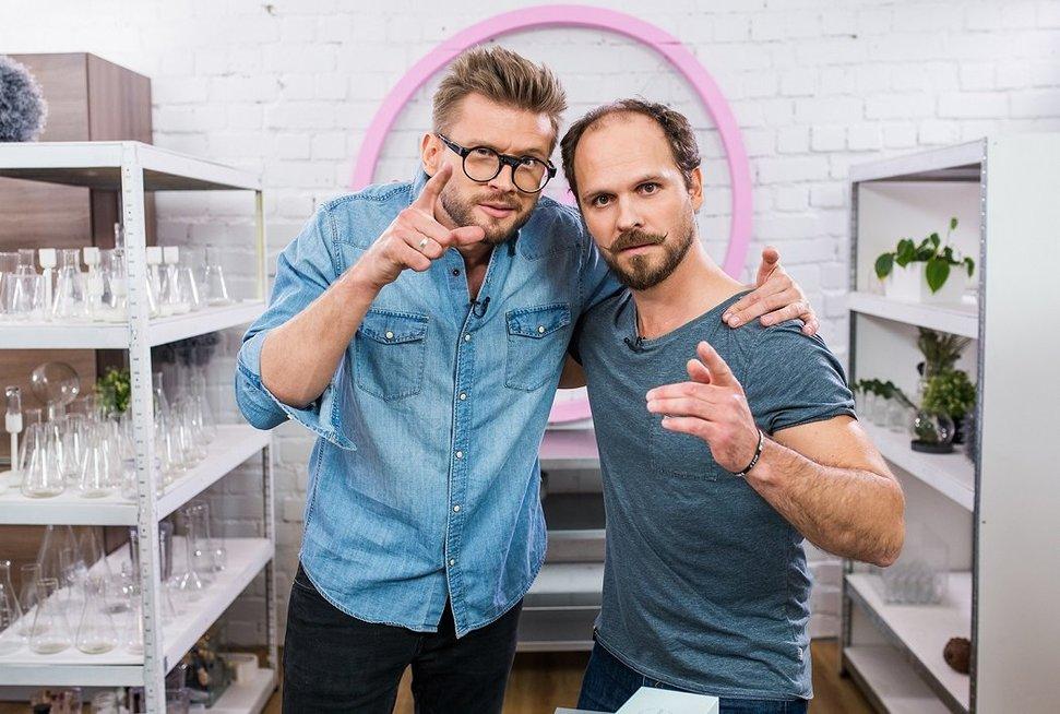 Alfas Ivanauskas ir Audrius Bružas (nuotr. TV3)