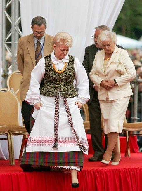 Dalia Grybauskaitė. Gražina Landsbergienė