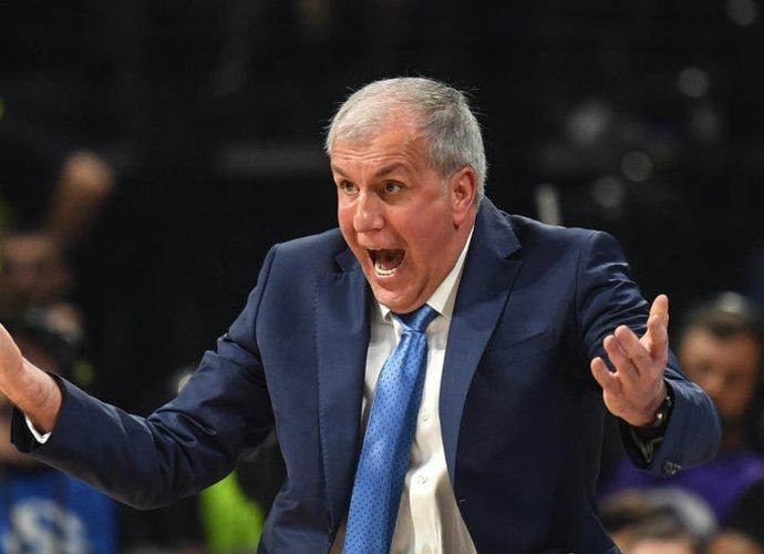 Željko Obradovičius (nuotr. Euroleague Basketball)