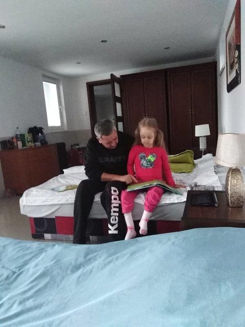 Mildutė su Tėčiu Aridanu