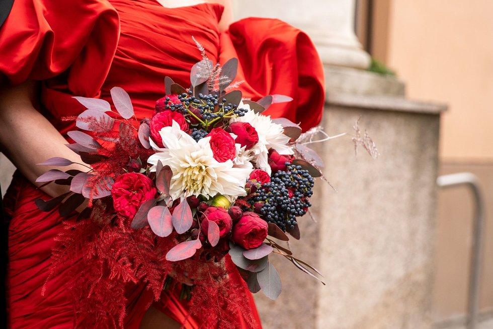 Natalijos Bunkės ir jos mylimojo Edgaro Eidėjaus vestuvių