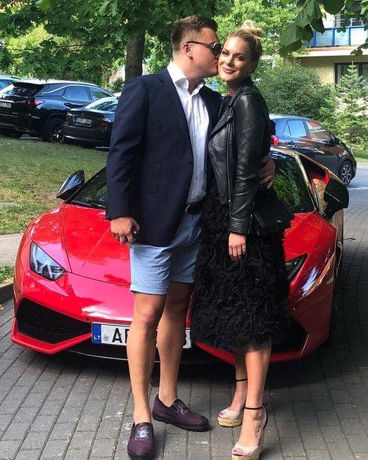 Paulius Aršauskas ir Eglė Malinauskaitė (nuotr. Instagram)