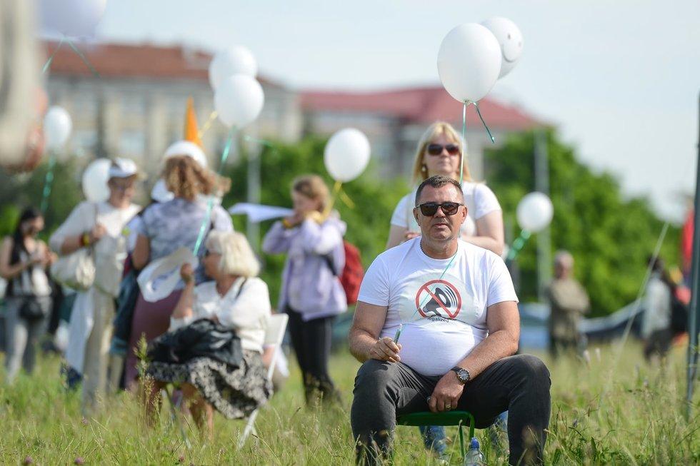 Protestas prie Seimo