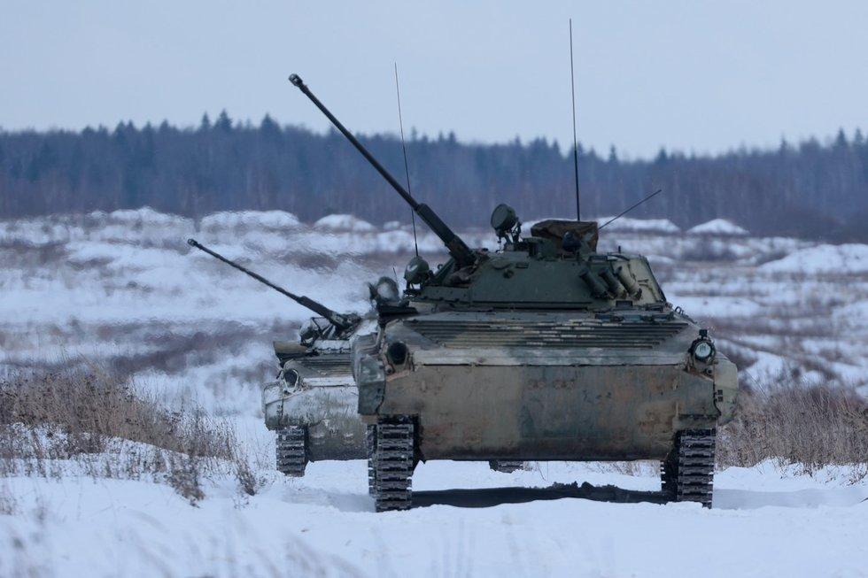 Rusijos kariuomenės pratybos, 2021-ieji