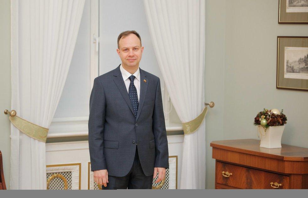 Prezidentė susitinka su pateiktu kandidatu į sveikatos apsaugos ministrus