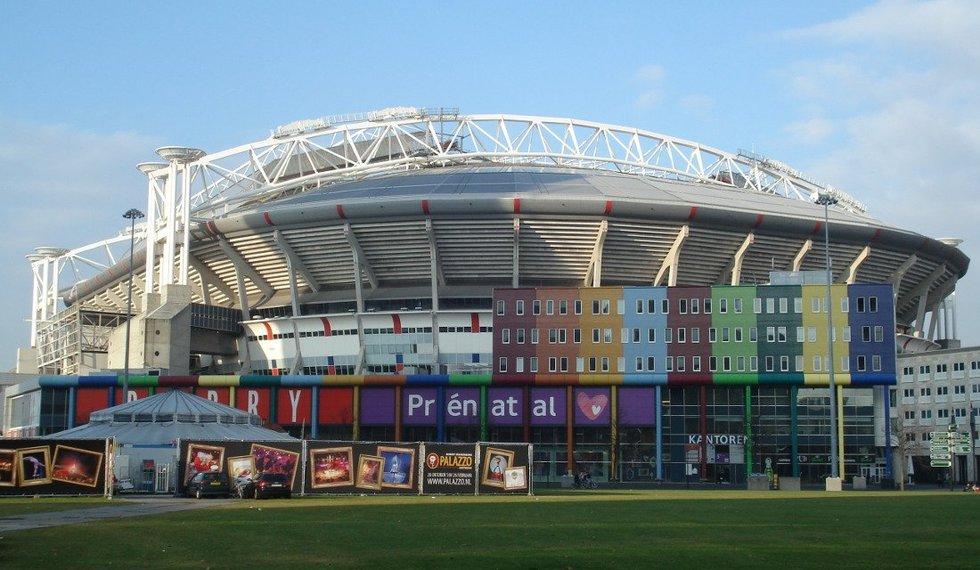 Johano Cruijffo stadionas Amsterdame