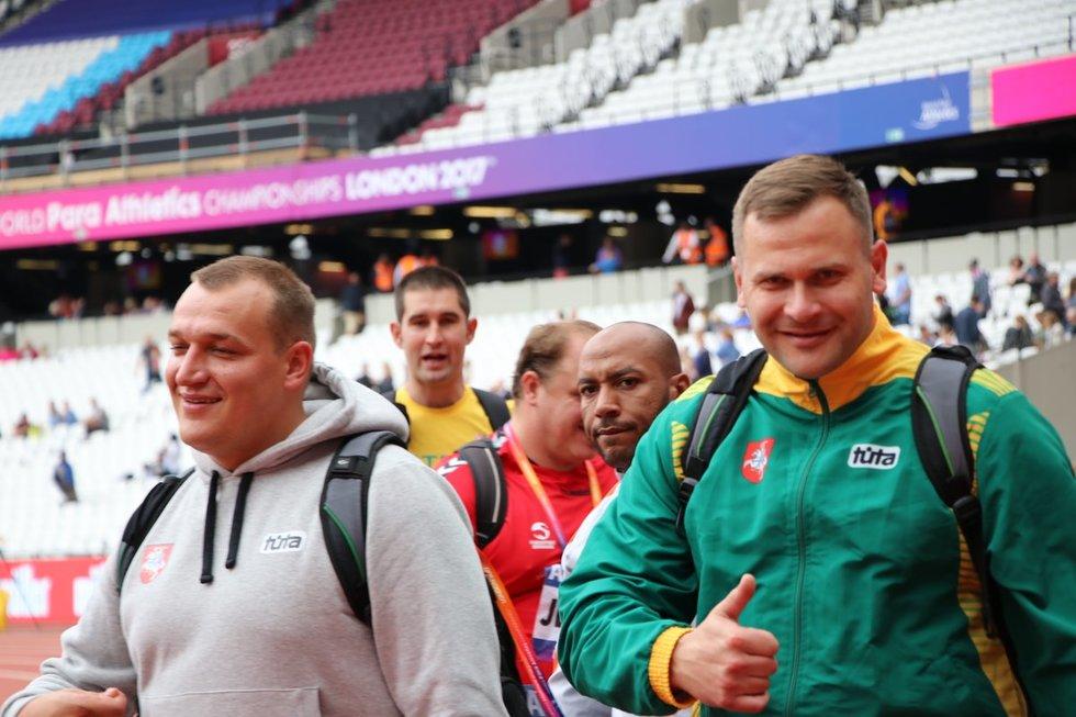 Donatas Dundzys ir Mindaugas Bilius (nuotr. Lietuvos paralimpinis komitetas)