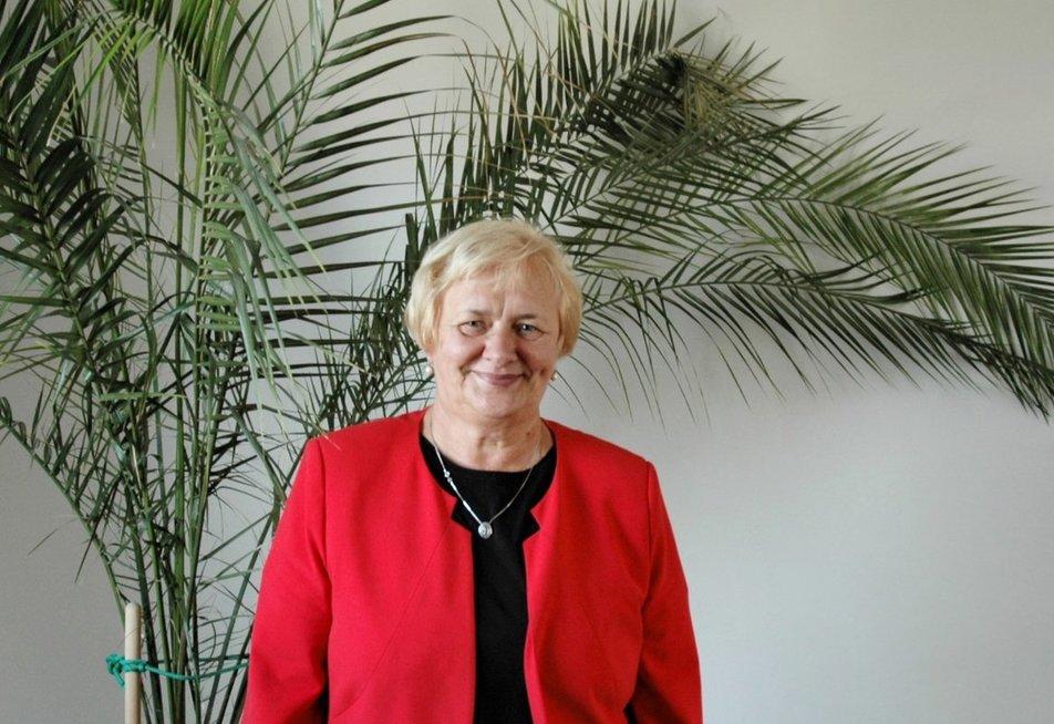 VšĮ Vilniaus miesto psichikos sveikatos centro Psichosocialinės reabilitacijos skyriaus vedėja Ona Davidonienė. (Linos. Jakubauskienės nuotr.)