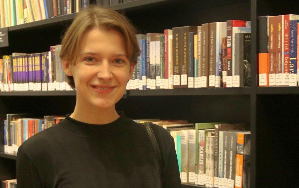 """Programos """"Kurk Lietuvai"""" projektų vadovė Karolina Zakarauskaitė. Sigitos Inčiūrienės nuotr."""