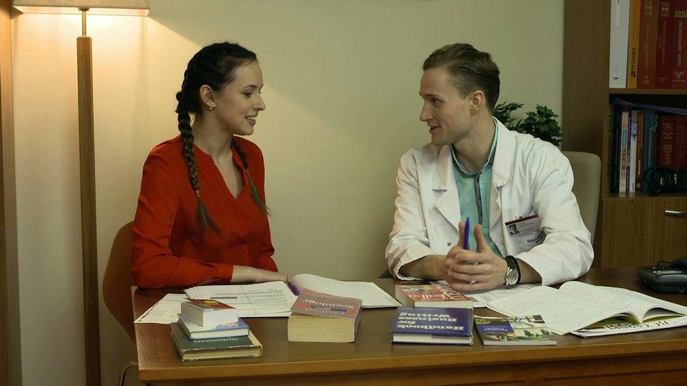 """Viktorija Šaulytė seriale """"Rezidentai"""" (nuotr. TV3)"""