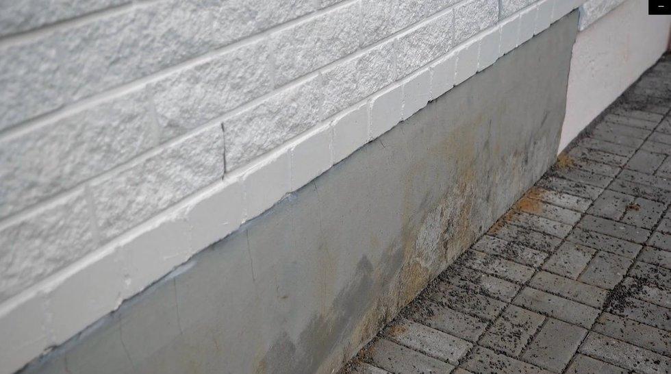 Ekspertas pataria, kaip patiems perdažyti namo fasadą