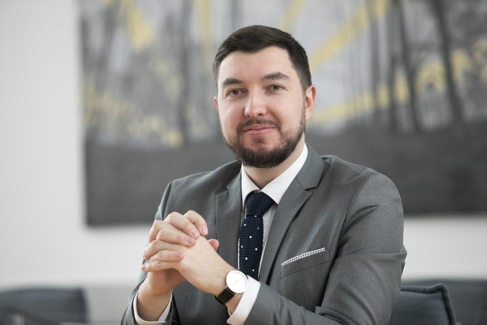 Vilniaus miesto mero pavaduotojas Vytautas Mitalas. Vilniaus miesto savivaldybės archyvo nuotr.