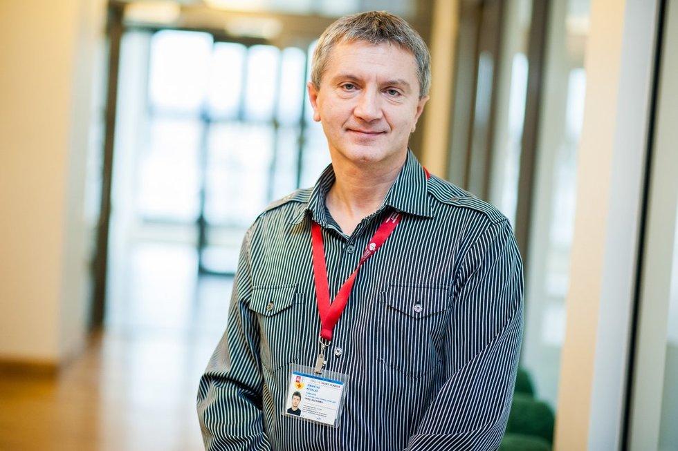 prof. Rimantas Kėvalas, Kauno klinikų Vaikų ligų klinikos vadovas.
