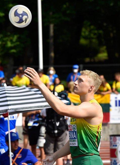 Mykolas Alekna (nuotr. Marko Mumm/Estonian Athletic Association)