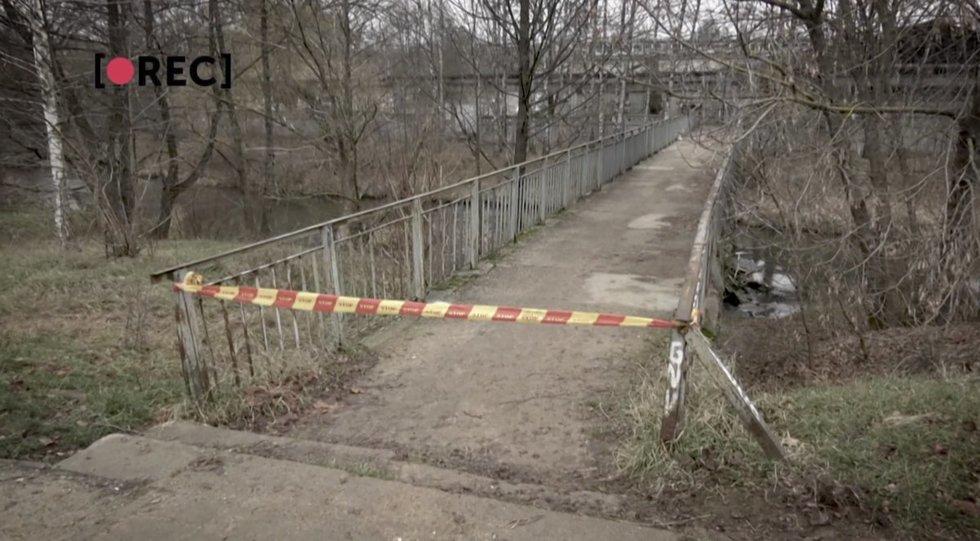 Tiltas, nuo kurio 17-metė buvo įmesta į upę
