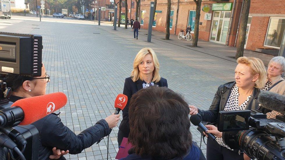 Vidaus reikalų ministrė Rita Tamašunienė