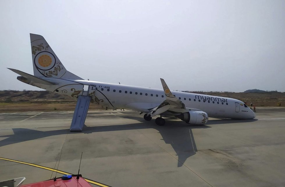 Per plauką: pilotas leidžiantis išgelbėjo sugedusio lėktuvo keleivius (nuotr. SCANPIX)