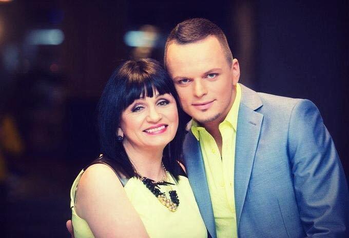 Ruslanas Kirilkinas ir jo mama