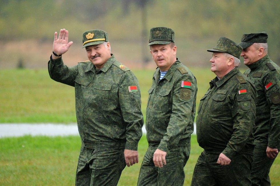 Aleksandras Lukašenka, Zapad 2017