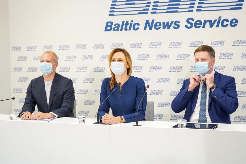 Lietuvos Respublikos liberalų sąjūdis antradienį taip pat pristatė rinkimų programą