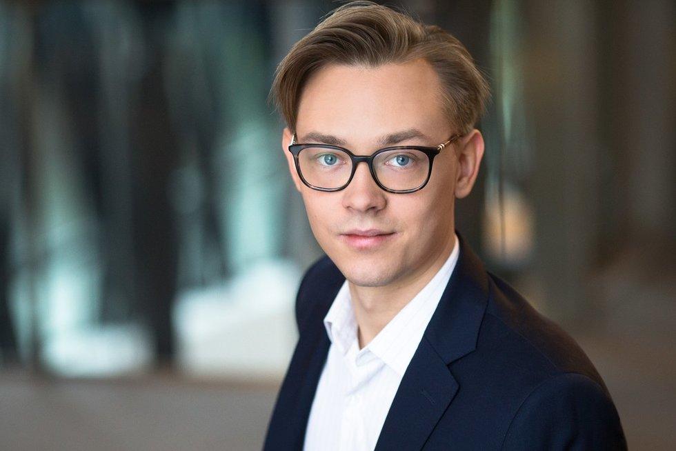 """""""Swedbank"""" ekonomistas Vytenis Šimkus (nuotr. asm. archyvo)"""