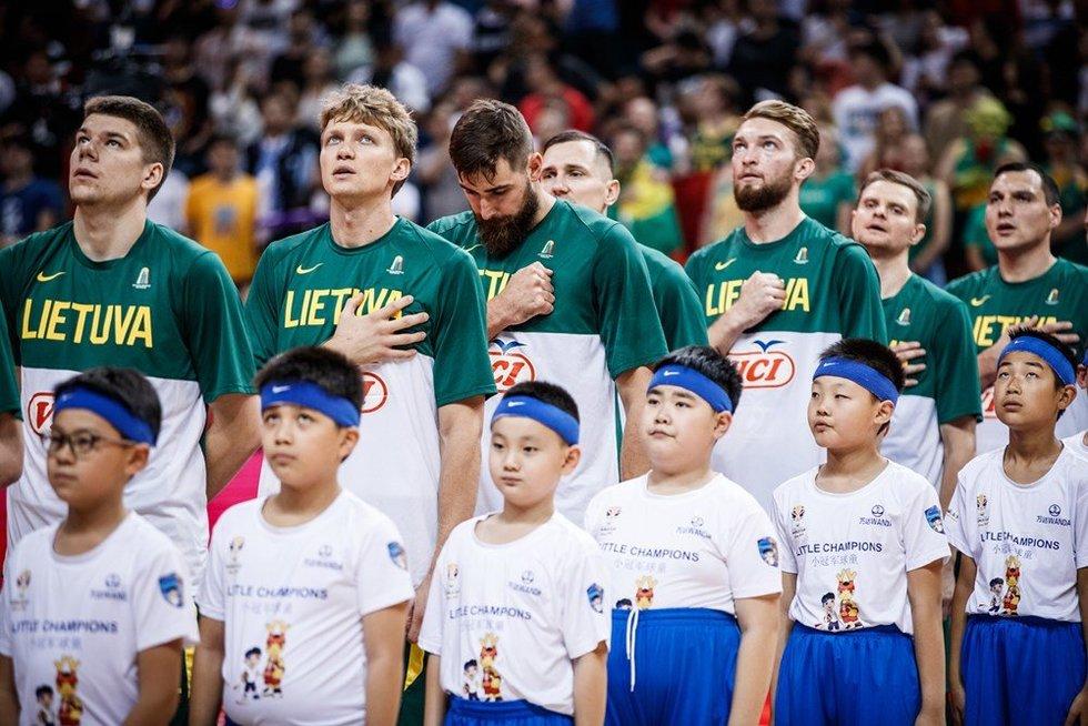 Rungtynių Lietuva-Prancūzija akimirka (nuotr. FIBA)