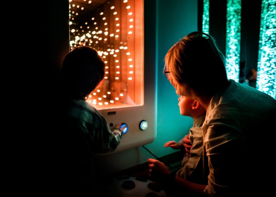 Klaipėdos sutrikusio vystymosi kūdikių namuose įrengtas sensorinis kambarys. Klaipėdos sutrikusio vystymosi kūdikių namų archyvo nuotr.