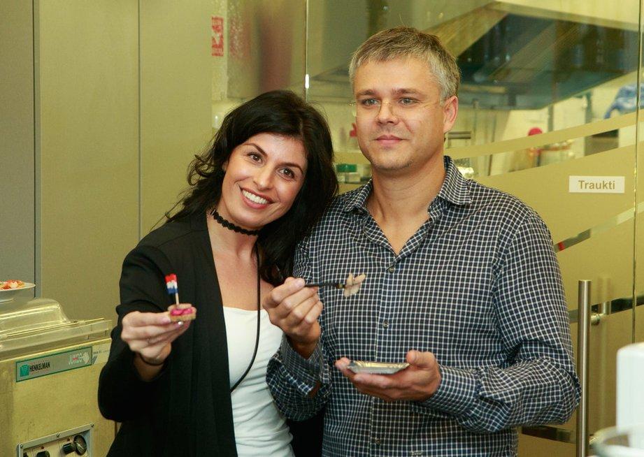 Veronika ir Marius Dautartai (nuotr. Tv3.lt/Ruslano Kondratjevo)