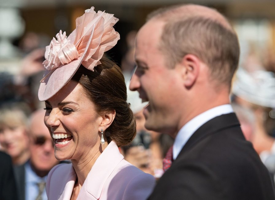 Princas Williamas su šeima