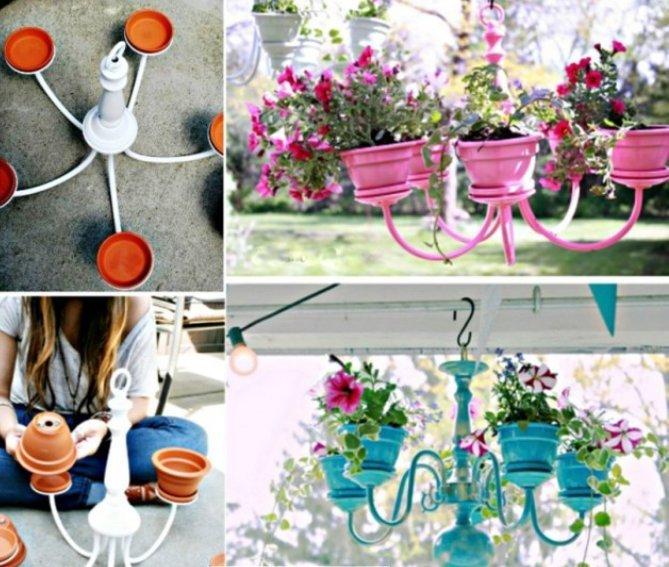 Originalūs gėlių vazonėliai (econet.ru nuotr.)
