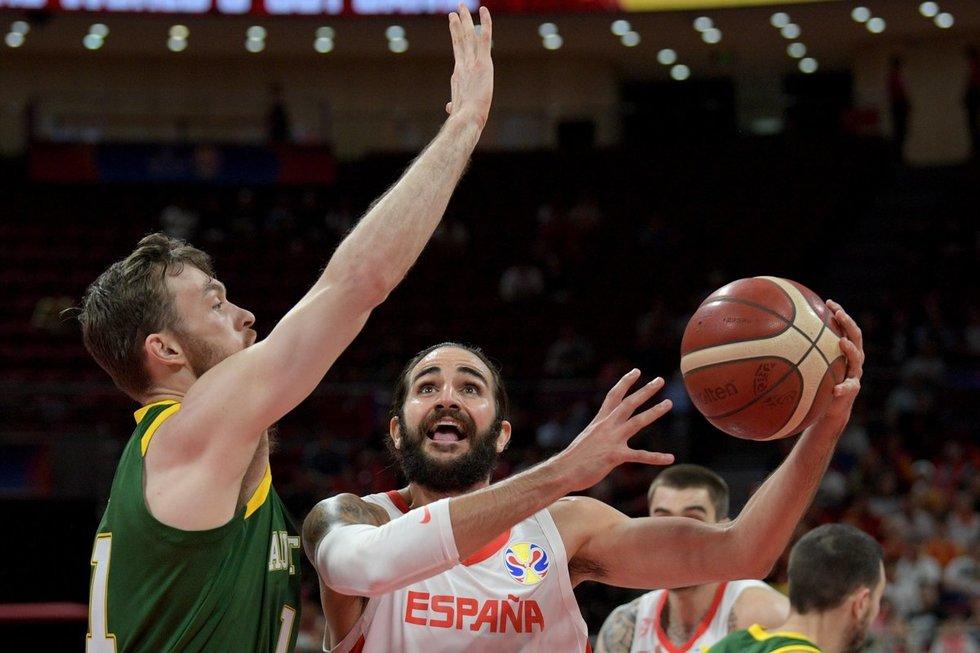 Ispanija-Australija akimirka (nuotr. SCANPIX)