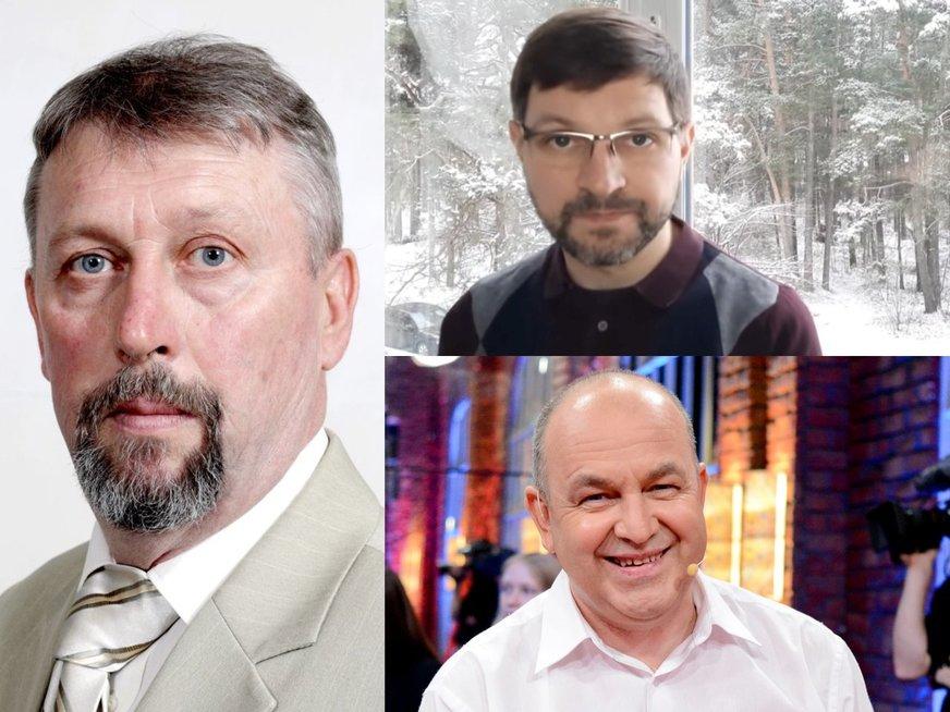 Raimondas Grinevičius, Antanas Kandrotas, Artūras Orlauskas