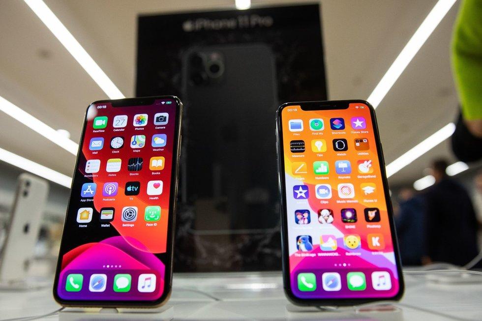 iPhone telefonai (nuotr. I. Gelūnas/Fotobankas.lt)