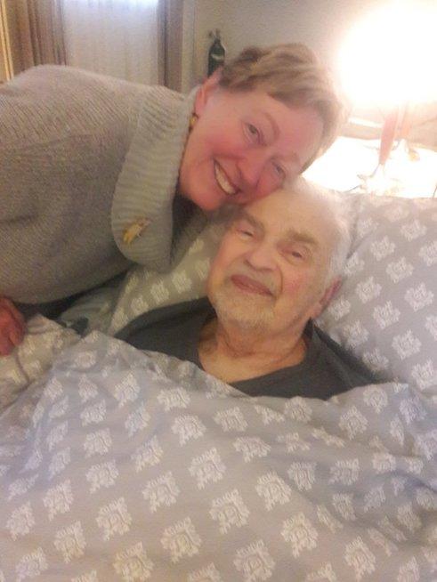 Rūta Grigienė šių metų sausį atsisveikino su vyru Algiu Grigu. Asmeninio archyvo nuotr.
