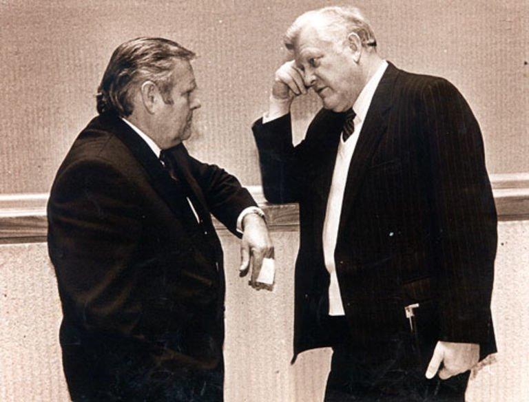 Bronislovas Lubys ir Algirdas Brazauskas