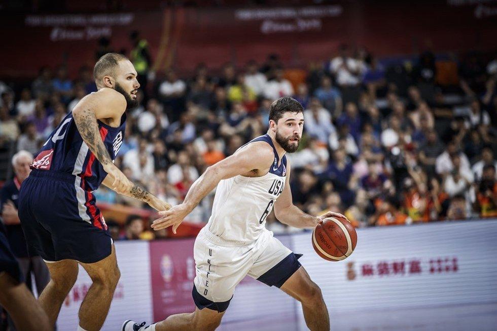 JAV – Prancūzija akimirkos (nuotr. FIBA)
