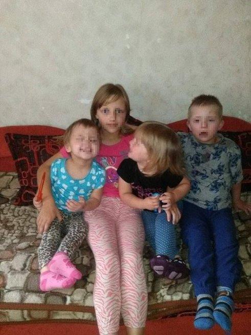 I. Milinavičiūtės vaikai (nuotr. asm. archyvo)