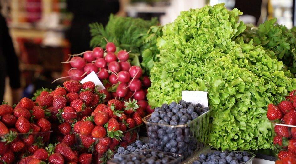 Maisto prekių kainos turguje