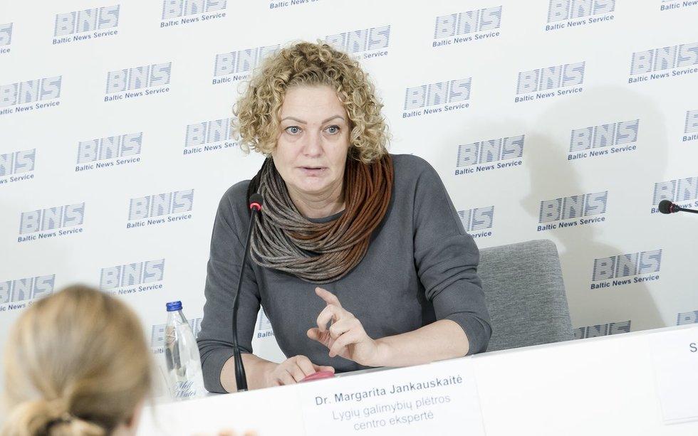 Dr. Margarita Jankauskaitė, Lygių galimybių plėtros centro ekspertė; (nuotr. Dainius Putinas)