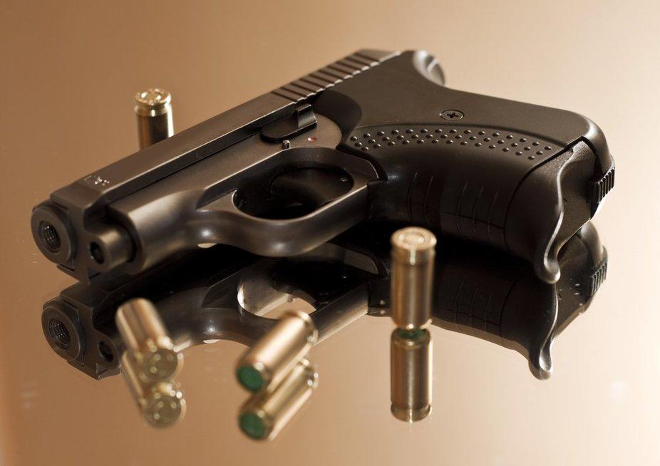 Šaunamasis ginklas (nuotr. 123rf.com)
