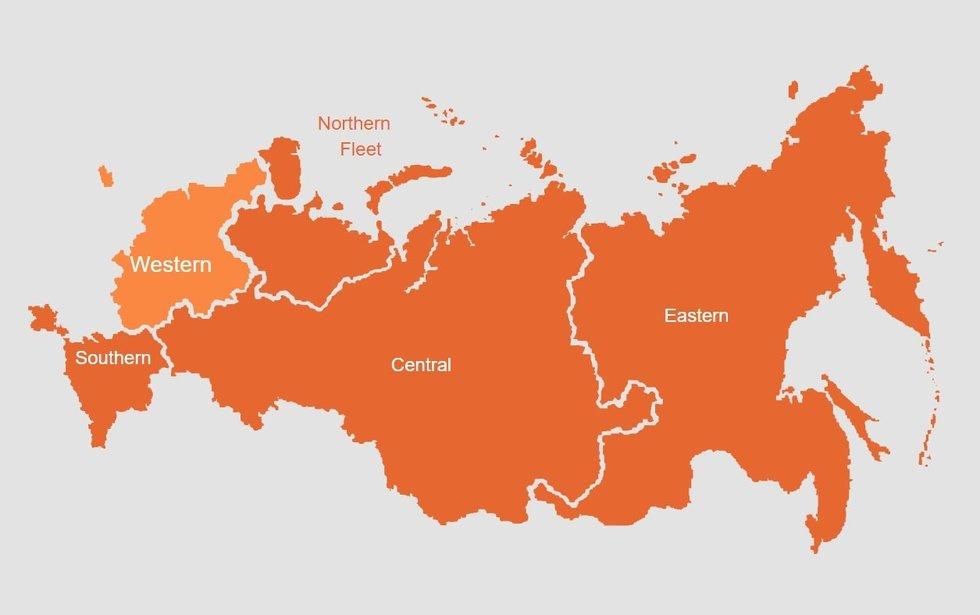 Karinės Rusijos apygardos