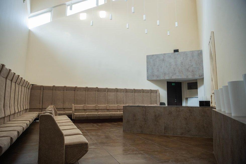 Vilniaus laidojimo rūmai, populiariausia salė