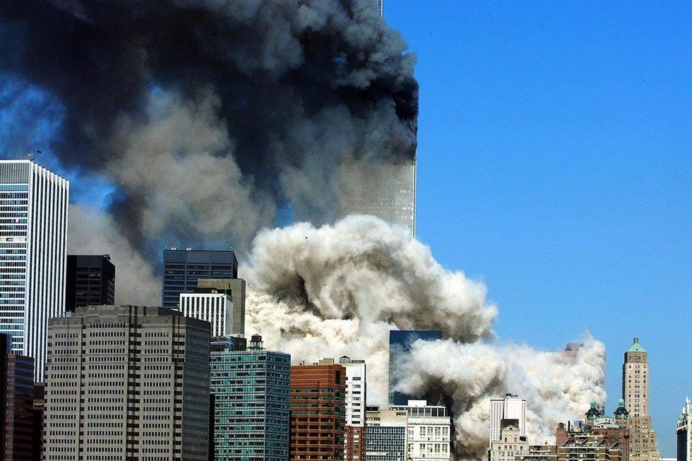 Rugsėjo 11-osios išpuolis Niujorke (nuotr. SCANPIX)