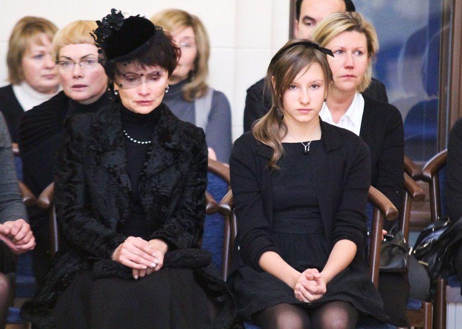Lyda Lubienė ir Viktorija Lubytė, 2011 m.