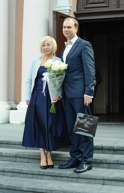 Rimantė Žiemelytė ir Saulius Jermolavjevas (nuotr. Eimanto Genio)