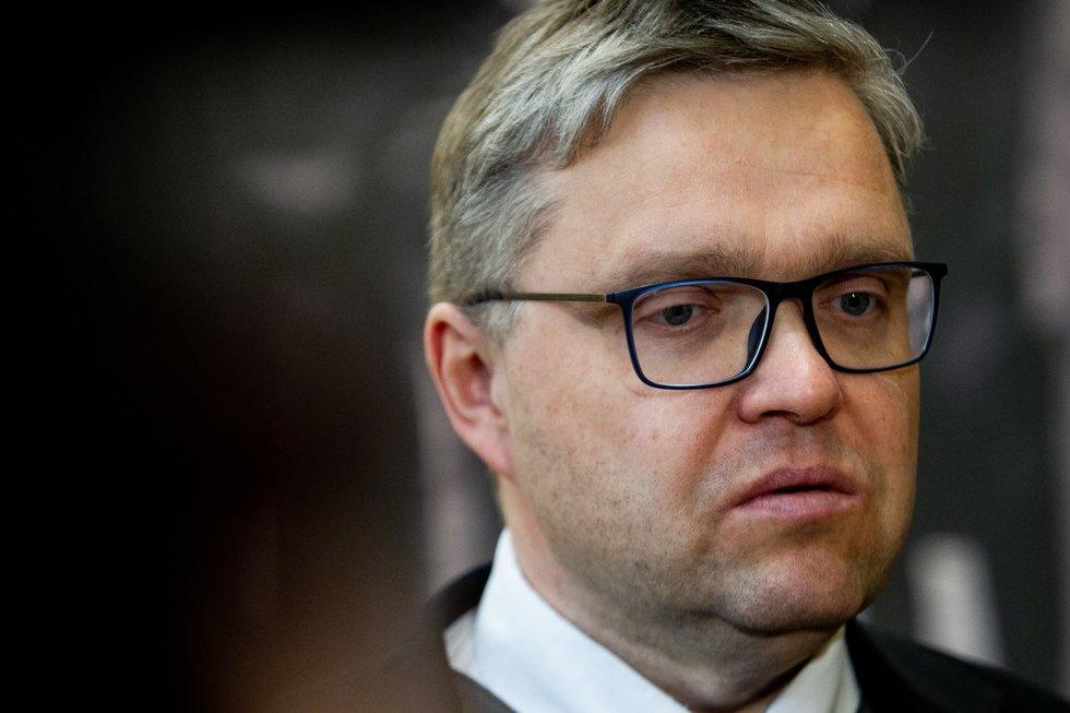Seimas svarstys rezoliuciją, kuria reiškiamas nepasitikėjimas Lietuvos banko vadovu Vitu Vasiliausku.