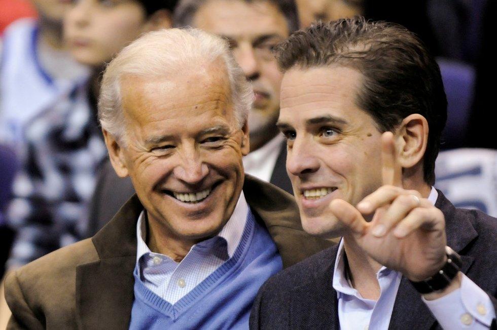 Joe Biden ir Hunter Biden