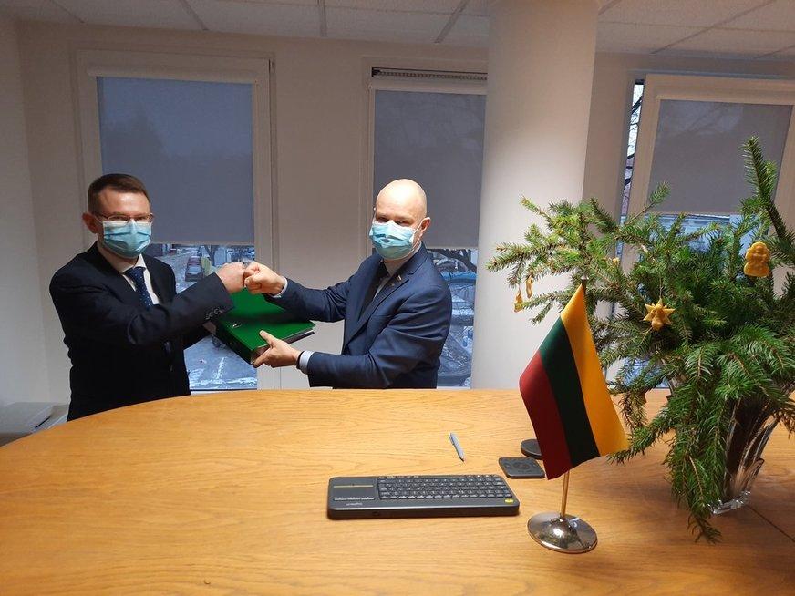 SAM darbą pradeda naujasis ministras A. Dulkys